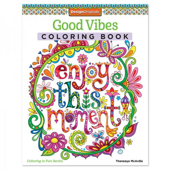 Coloring Book - Good Vibes