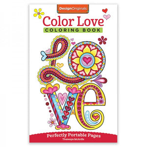 Travel Coloring Book - Love