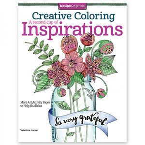 Coloring Book - Creative Coloring - A Second Cup