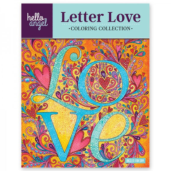Coloring Book - Hello Angel - Letter Love
