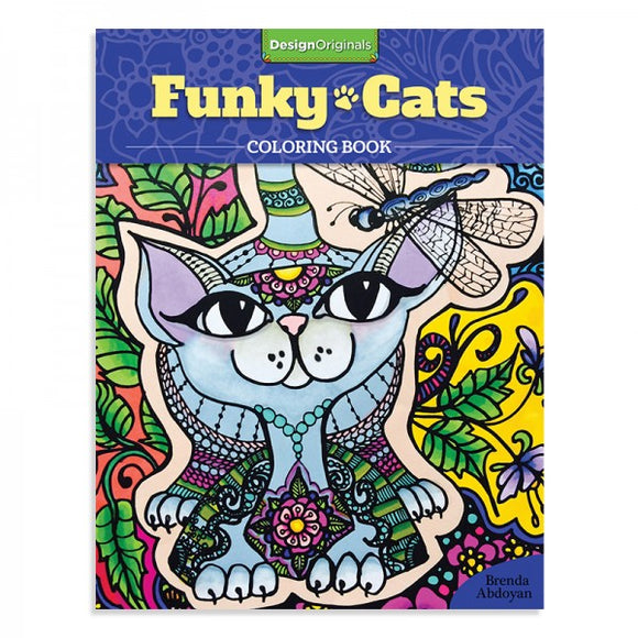 Coloring Book - Funky Cats
