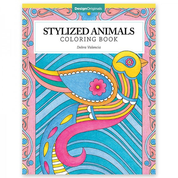 Coloring Book - Stylized Animals