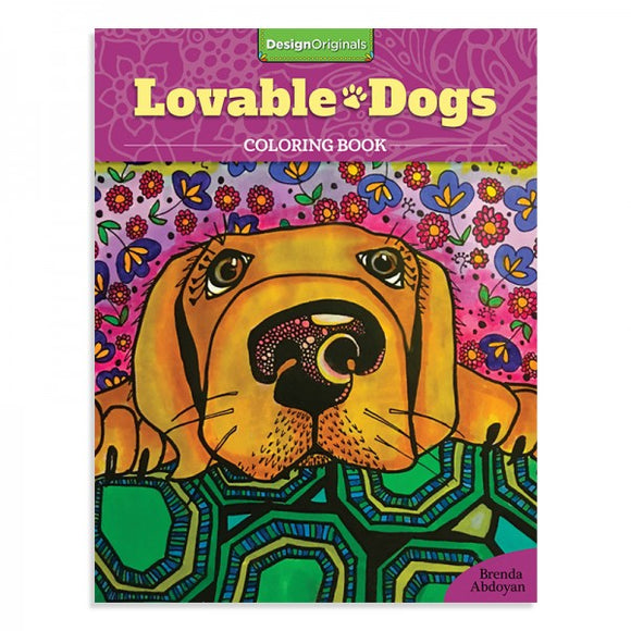 Coloring Book - Lovable Dogs