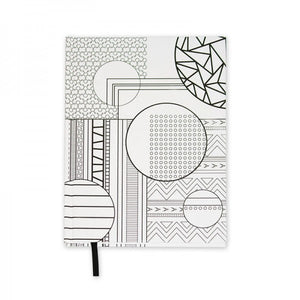 Pocket Coloring Journal - Geometric Patterns