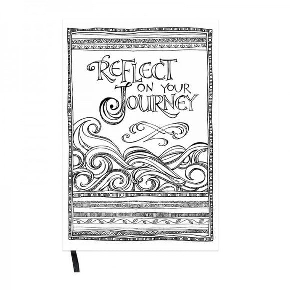 Pocket Coloring Journal - Journey