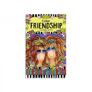 Portable Coloring Book - Friendship