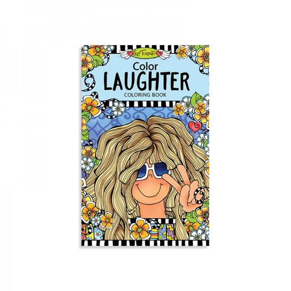 Portable Coloring Book - Laughter