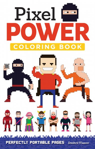 Travel Coloring Book - Pixel Power