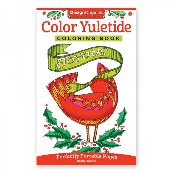 Travel Coloring Book - Yuletide