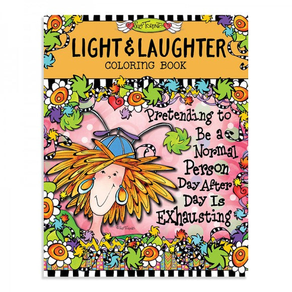 Coloring Book - Light & Laughter