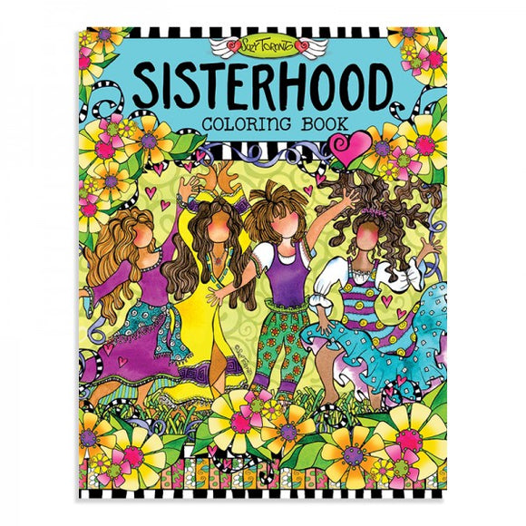 Coloring Book - Sisterhood
