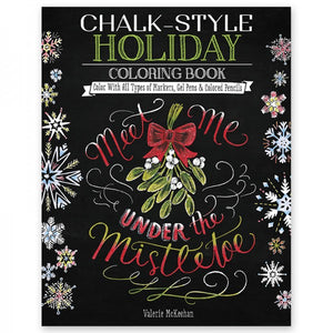 Coloring Book - Chalk Style - Holiday