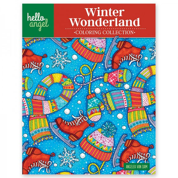 Coloring Book - Hello Angel - Winter Wonderland