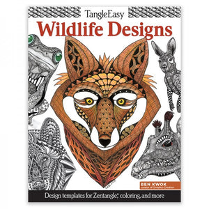 Coloring Book - TangleEasy - Wildlife