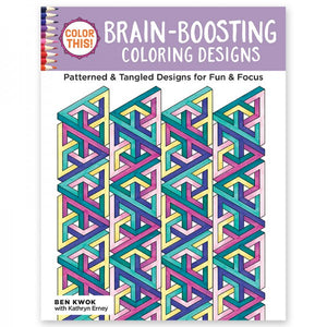 Coloring Book - Color This! Brain-Boosting