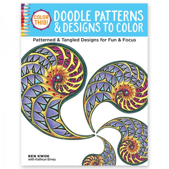 Coloring Book - Color This! Doodle Patterns