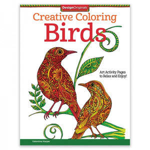 Coloring Book - Creative Coloring - Birds