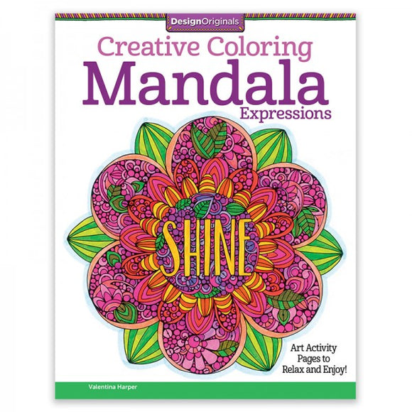 Coloring Book - Creative Coloring - Mandala Expressions