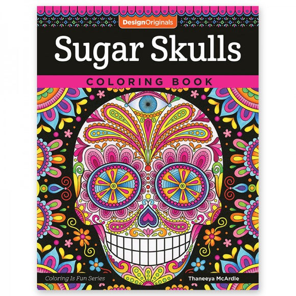 Coloring Book - Sugar Skulls