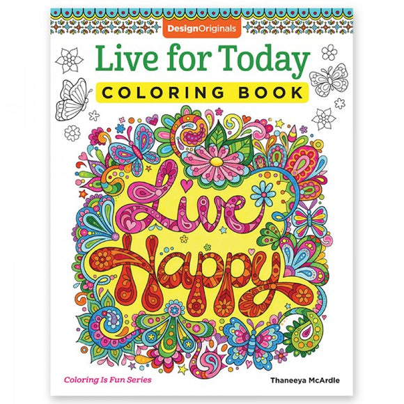 Coloring Book - Live for Today