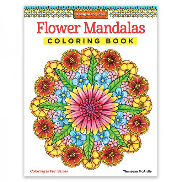 Coloring Book - Flower Mandalas