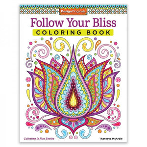 Coloring Book - Follow Your Bliss