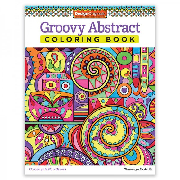 Coloring Book - Groovy Abstract
