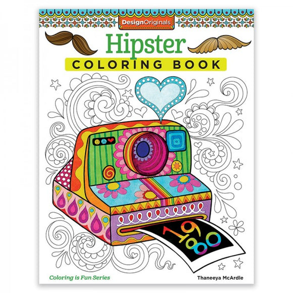 Coloring Book - Hipster