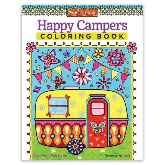 Coloring Book - Happy Campers