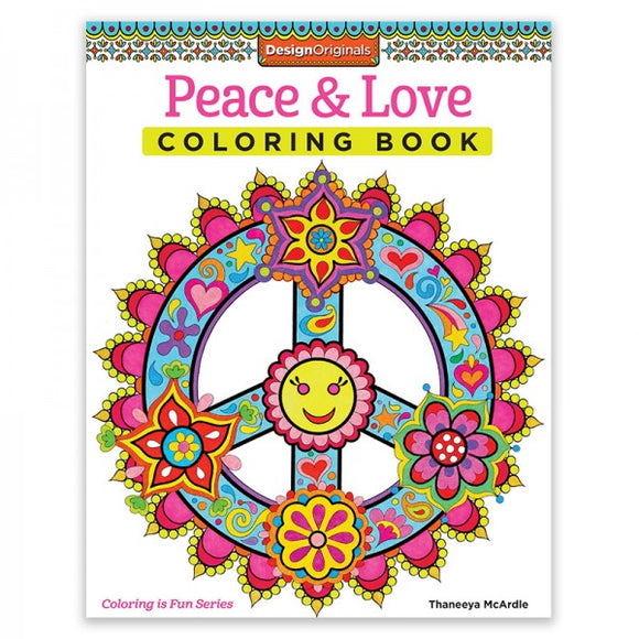 Coloring Book - Peace & Love
