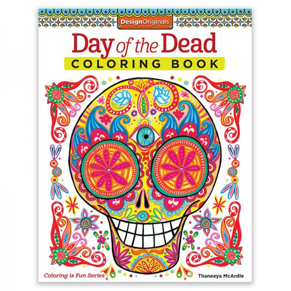 Coloring Book - Day of the Dead