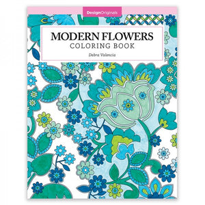 Coloring Book - Modern Flowers