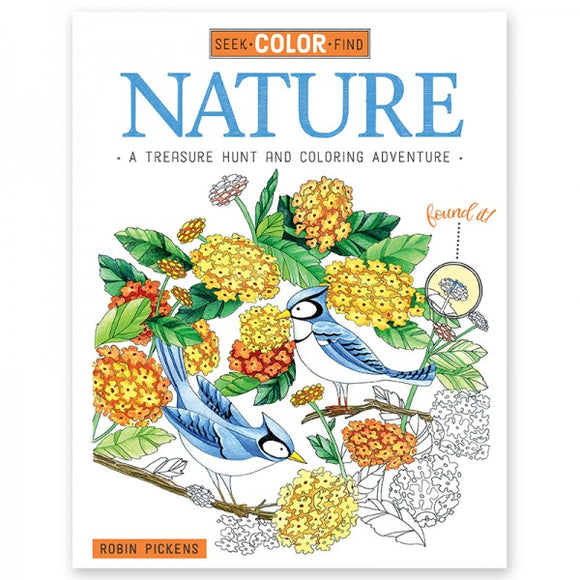 Coloring Book - Seek, Color, Find - Nature
