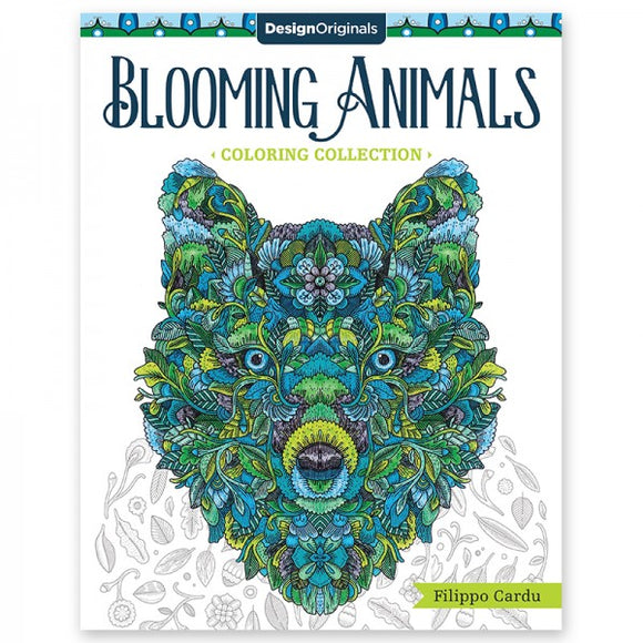 Coloring Book - Blooming Animals