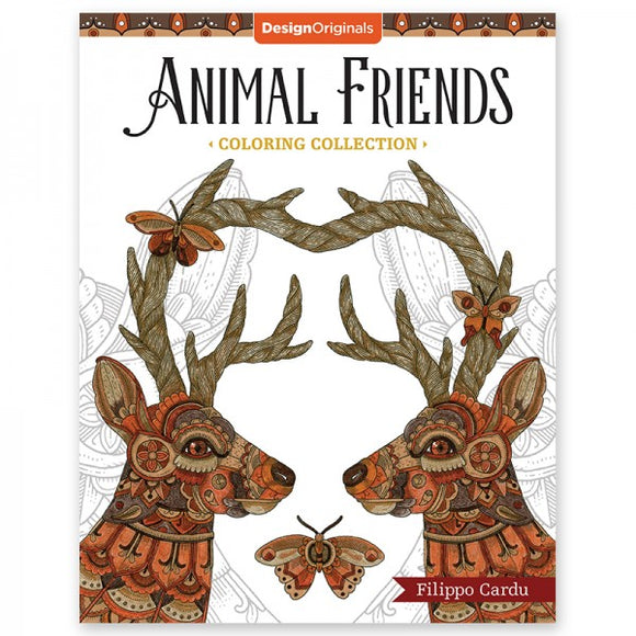 Coloring Book - Animal Friends