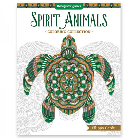Coloring Book - Spirit Animals