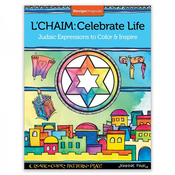 Coloring Book - L'Chaim Celebrate