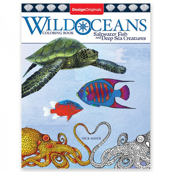 Coloring Book - Wild Oceans