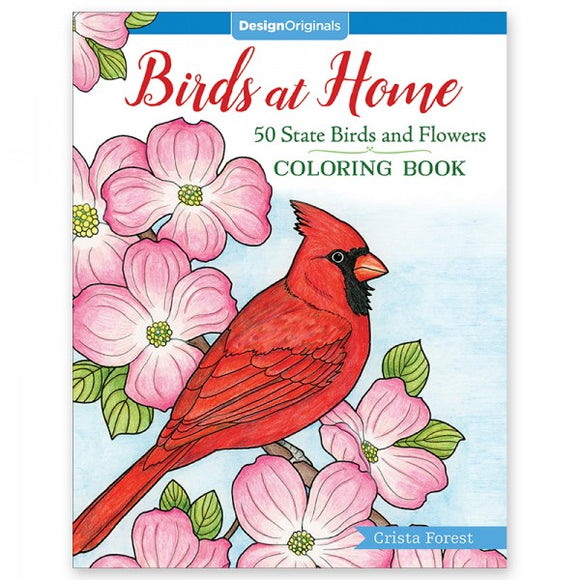 Coloring Book - Birds at Home