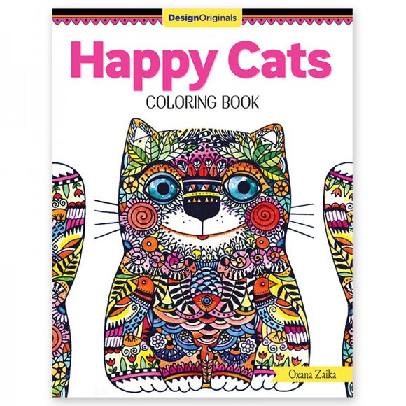 Coloring Book - Happy Cats