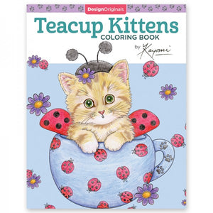 Coloring Book - Teacup Kittens