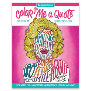 Coloring Book - Color Me a Quote