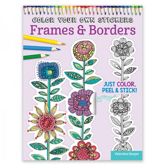 Color Your Own Stickers - Frames
