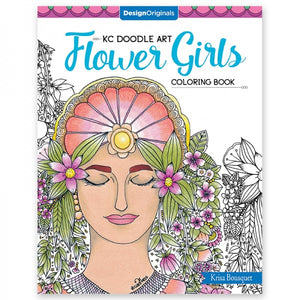 Coloring Book - Flower Girls