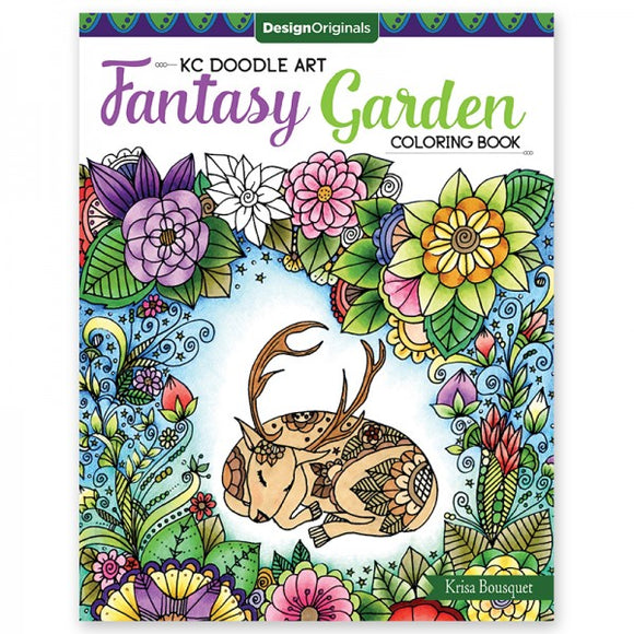 Coloring Book - Fantasy Garden