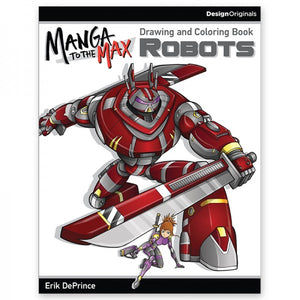 Color - Manga to the Max - Robots