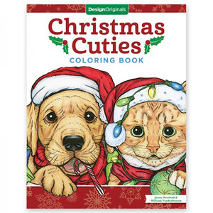 Coloring Book - Christmas Cuties