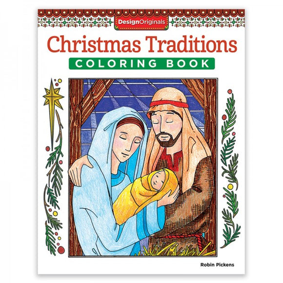 Coloring Book - Christmas Traditions