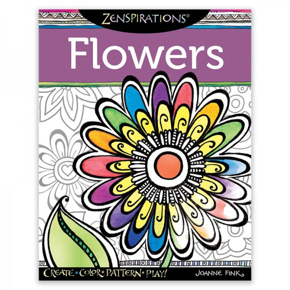 Coloring Book - Flowers