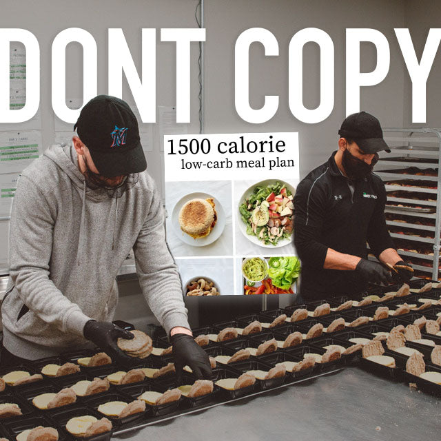 Why shouldn't you copy someone else's meal plan!